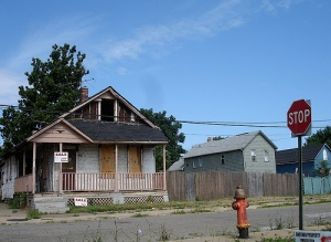 Lege huizen in Cleveland