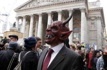 Verhofstadt incognito op de G-20 top in Londen.