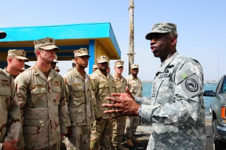 GENERAL KIP WARD IN DJIBOUTI