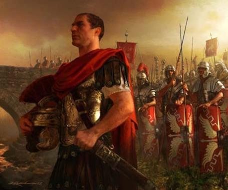 Caesar bij de Rubicon