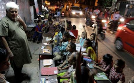11 india school streetside