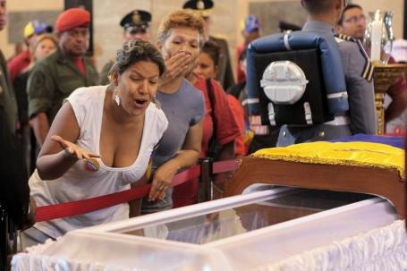Treuren over Chavez
