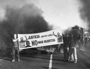 Arbeidersprotest in Venezuela