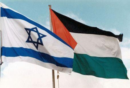 israel 0 palestijnen_vlaggen