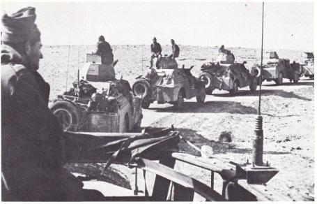 Het goed uitgeruste Israelische leger met tanks, 1948