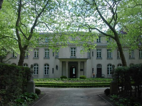 Villa aan de Wannsee in Berlijn waar tot de Holocaust beslist werd
