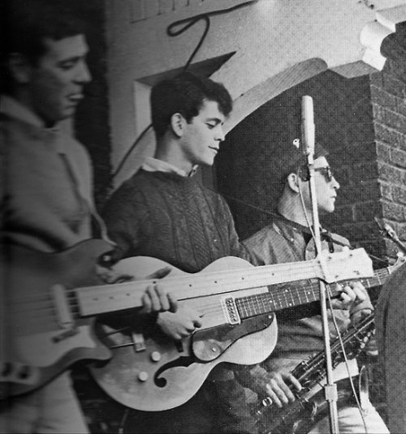 Lou's eerste band