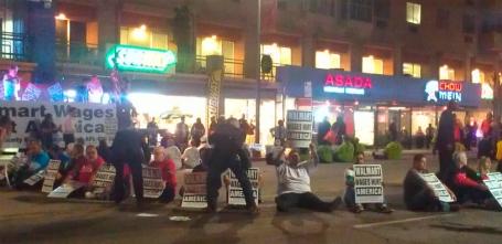 Walmart sit-in