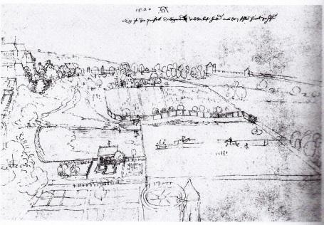 Dürers tekening van de Warande
