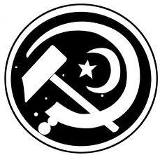 embleem moslim communisten