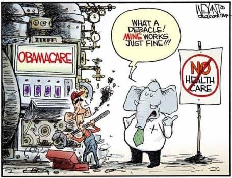 (De olifant staat symbool voor de Republikeinse partij)
