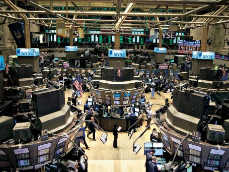 New York Stock Exchange binnen