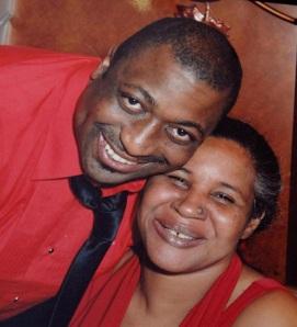 Eric en zijn vrouw Esaw