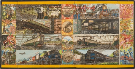 van Genk, great railroads of the world, 1970