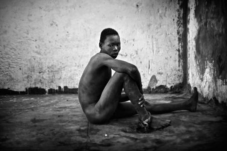 Juba Central Prison, januari 2011