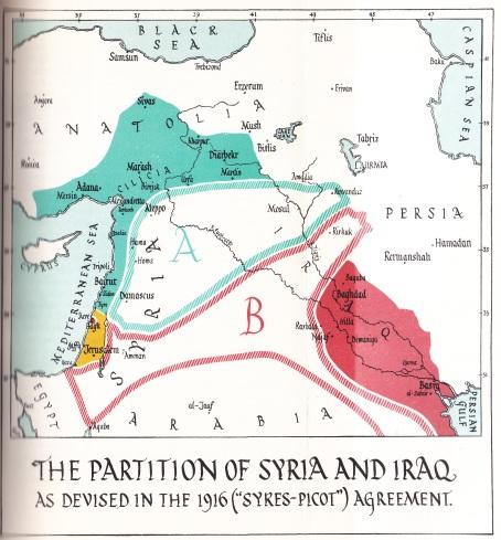 Sykes-Picot kaart