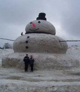 14 big snowman
