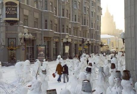 14 many snowmen
