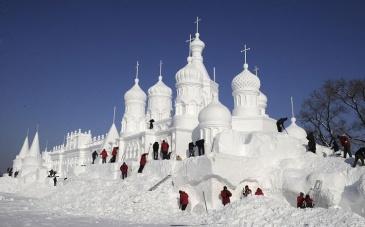 27 snow palace