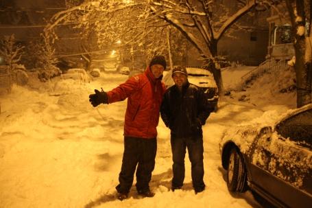 3 snowy Jackson Street
