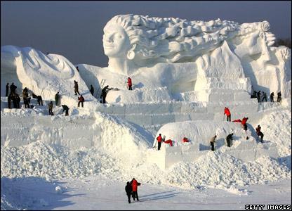 30 snow woman