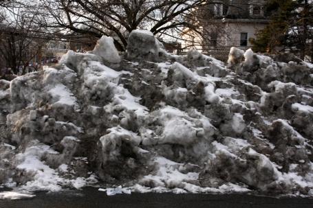 7 sneeuw parking klein