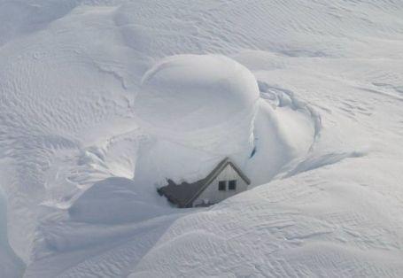 8 te veel sneeuw