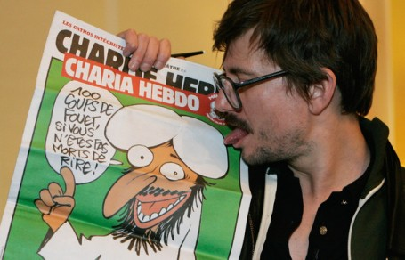 3 Charlie Hebdo na de brandstichting