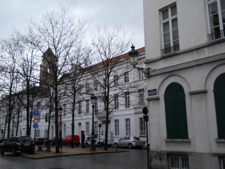Huizen rond het Godshuis