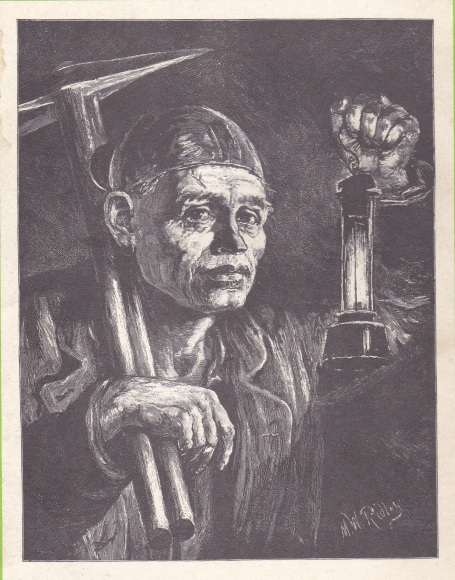 The Graphic 15 April 1876, M.W. Ridley: De Mijnwerker