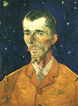 Portret van Eugène Boch door Vincent Van Gogh