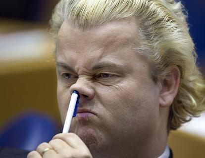 Geert Wilders in flou artistique