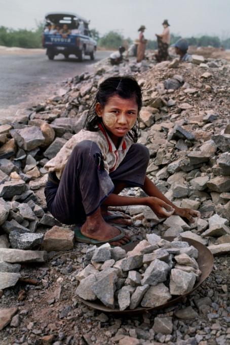 Kinderarbeid in Myanmar