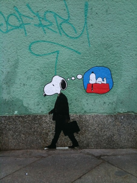 5c wall snoopy