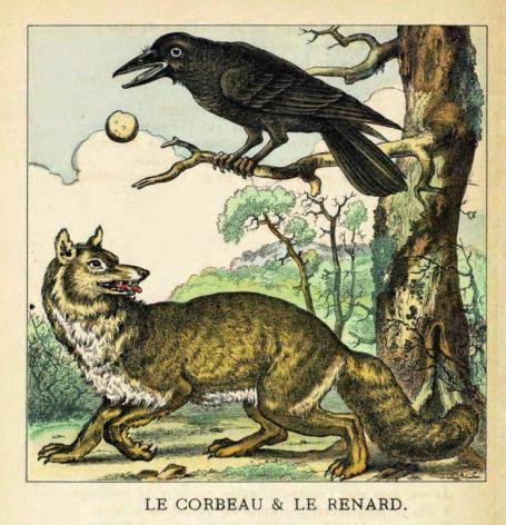 Col 6 corbeau renard