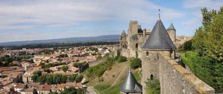 Carcassonne stad der Visigoten