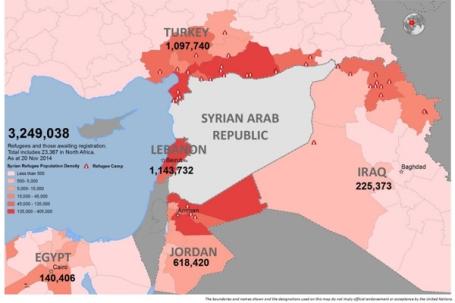 Vluchtelingen (cijfers vorig jaar)