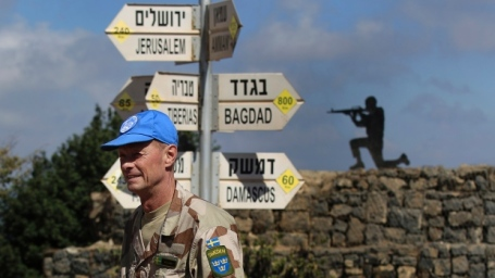 UN in Golan