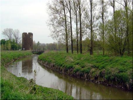 De Demer en de Maagdentoren