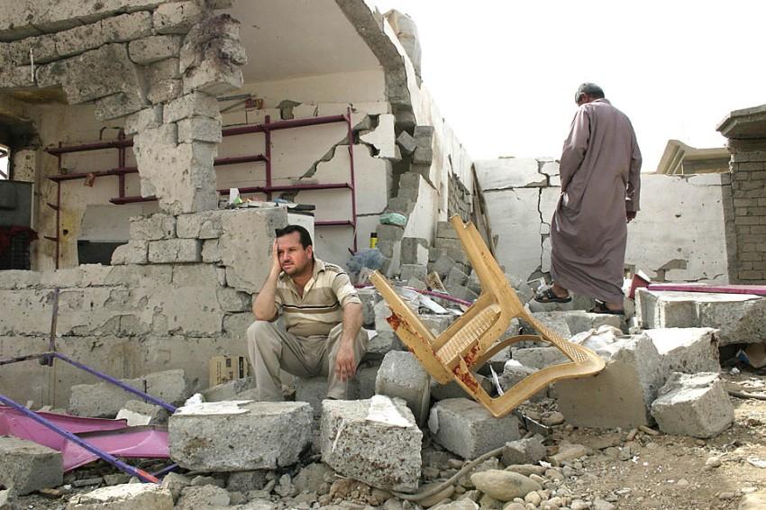 Overleven in Mosul, de grootste stad in ISIS-gebied Foto: Mujamed Mohammed/AFP)