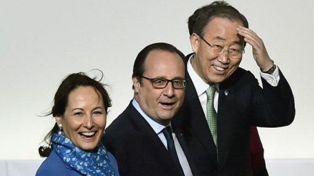 Gezichten op COP21. Blijven lachen!
