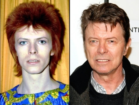 aged bowie