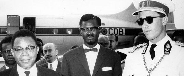 Boudewijn, Lumumba, Kasa Vubu