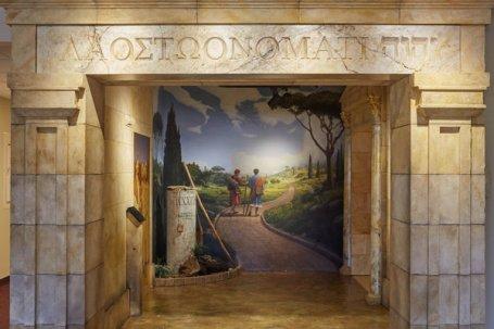 In het museum van de Getuigen