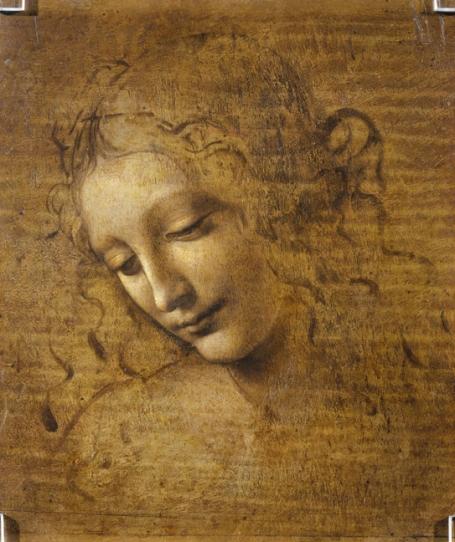 Da Vinci: Hoofd van een vrouw (ca.1500–1505)