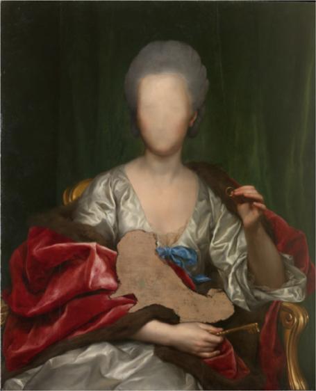 Anton Raphael Mengs.Portrait of Mariana de Silva y Sarmiento, duquesa de Huescar (1775)