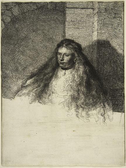 Rembrandt Joodse bruid  (1635)