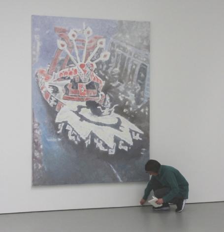 Installatiebeeld Corso I (foto Tom Ronse)