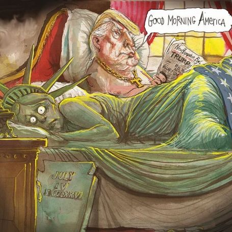Cartoon door David Rowe