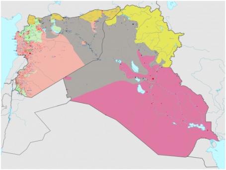 kaart-irak-syrie